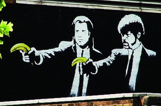 Banksy - Pulp Fiction