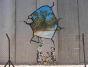 Banksy - barriera di separazione israeliana