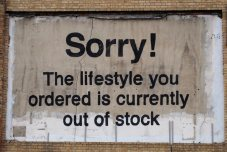 Banksy - Sorry the lifestyle that you have ordered is out of stock