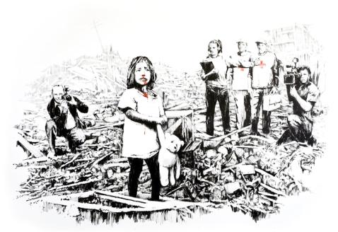 I media by Banksy