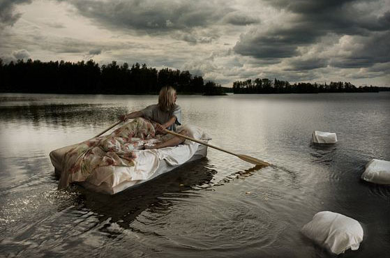 Erik Johansson - Wet dreams on open water