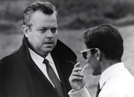 Pier Paolo Pasolini e Orson Welles