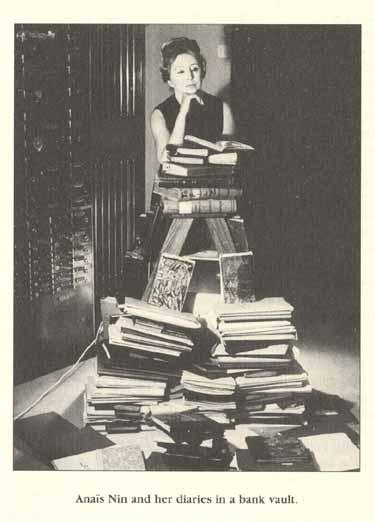 Anaïs Nin coi suoi diari