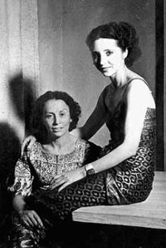 Anaïs Nin con Helba More