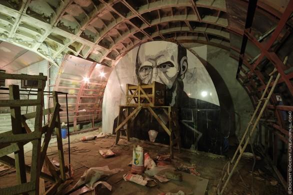 Fedor Dostoevskij - stazione di Mosca
