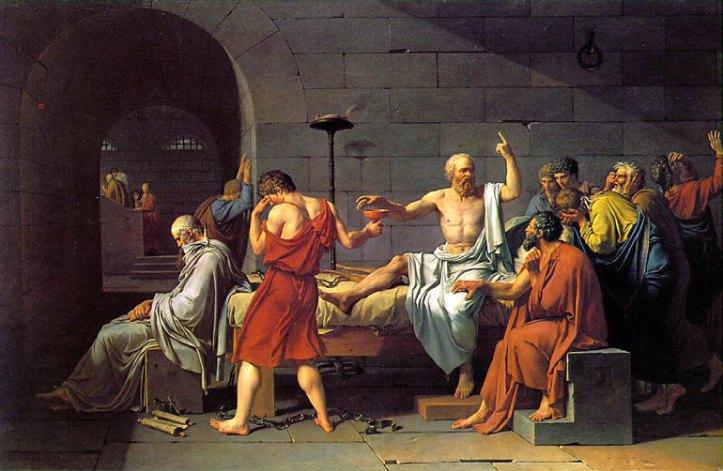 Socrate la morte di Louis David 1787