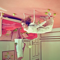 Cetrobo - Green apple pink carpet