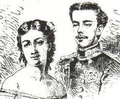 Duca d'Aosta Amedeo Ferdinando Maria di Savoia e Maria Vittoria dal Pozzo della Cisterna