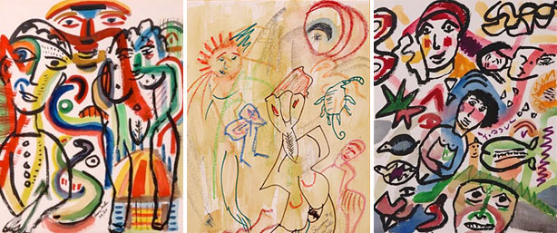 Henry Miller - acquerelli