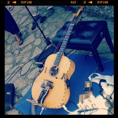 Time in Jazz 2012 - Berchidda (Centro Laber) - Paolo Angeli (Oschiri, Santuario della Madonna di Castro)