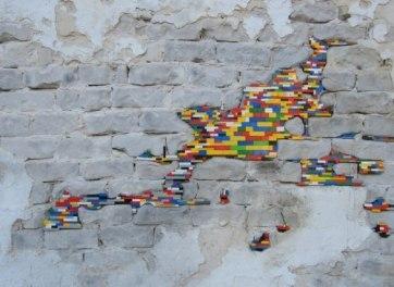 Jan Vormann - Lego street art