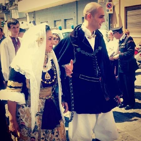 Selargius - Matrimonio selargino 2012 - Gli sposi