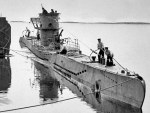Operazione Pastorius - una foto d'epoca di un U-Boat tedesco