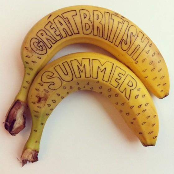 Mat Dolphin - Banana Drawings