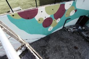 ECOMasse - Piscine di Provaglio d'Iseo. Muro interno