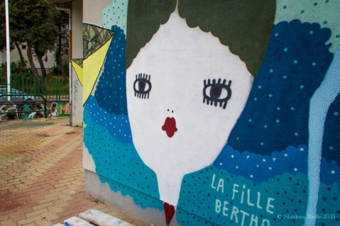 La Fille Bertha - Graffiti