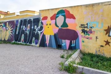 La Fille Bertha - Graffiti