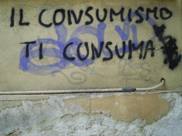 Il consumismo ti consuma