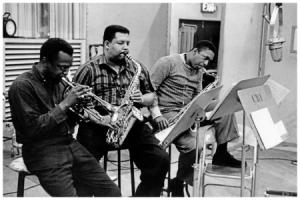 Miles Davis, Cannonball Adderley e John Coltrane