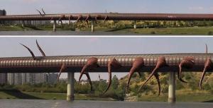 David Cerny - proposta 2 metropolitana