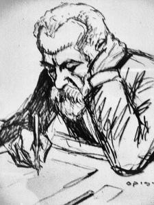 Antoni Gaudì (self portrait)