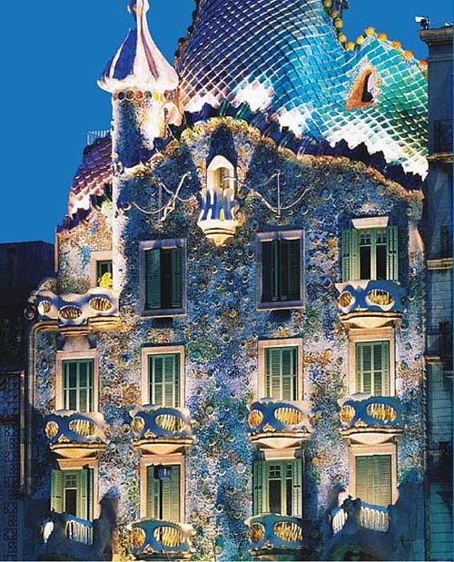 I grandi dell arte lo stile eclettico di antoni gaud for Antoni gaudi opere