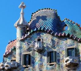 Casa Batllò di Antoni Gaudí