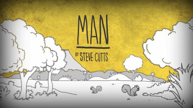 MAN by Steve Cutts
