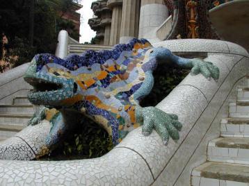 Park Guell - Salamandra