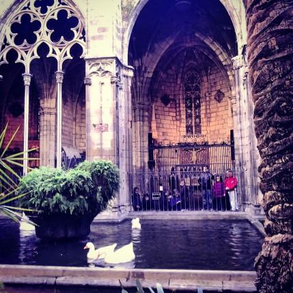 Barcellona - Cattedrale de la Santa Creu