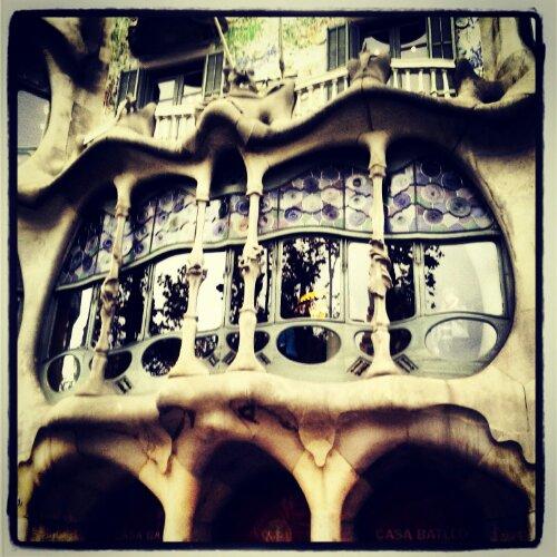 Casa Batllò progettata da Antoni Gaudì