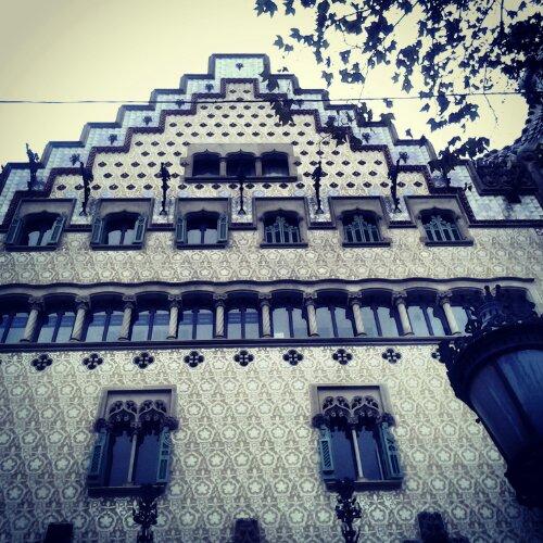 Casa Amatller progettata dall'architetto Josep Puig i Cadafalch