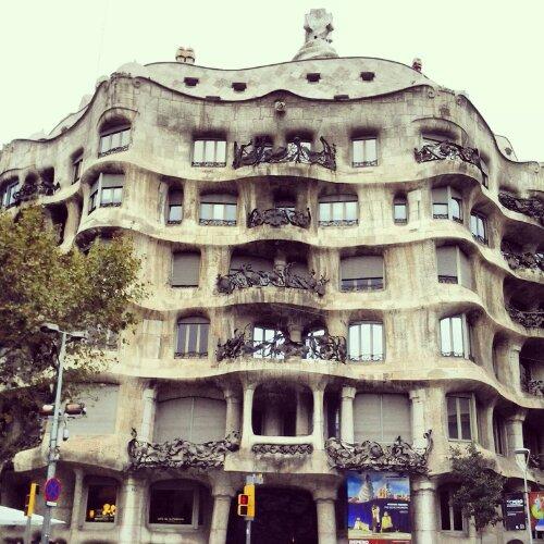 Casa Milà aka La Pedrera progettata da Antoni Gaudì