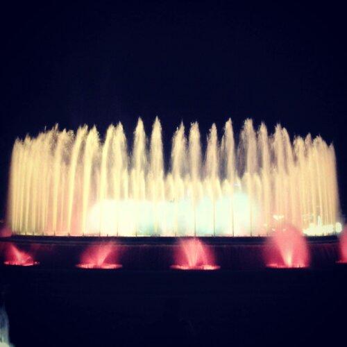 La fontana màgica de Montjuïc