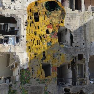 Freedom Graffiti by Tammam Azzam