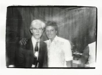 Andy Warhol e Michael Jackson, 1979