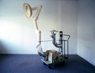 Cees Krijnen - Portable Powder Puff System, 1999