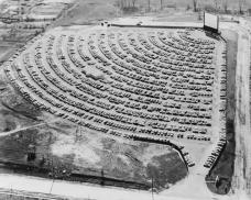 Teatro Drive-in, South Bend Indiana, 1950s