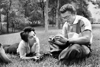 Elizabeth Taylor e James Dean, 1955