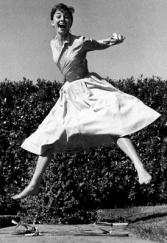 Halsman - Audrey Hepburn, 1955