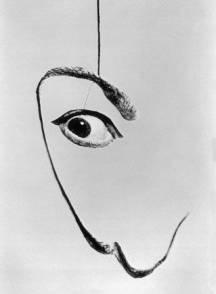 Halsman Dalì - Dali's Mustache