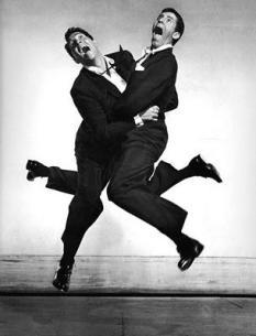 Halsman - Dean Martin e Jerry Lewis, 1951