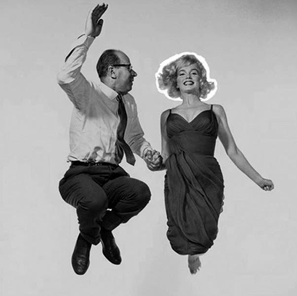 Halsman - Marilyn Monroe con Philip Halsman, 1951