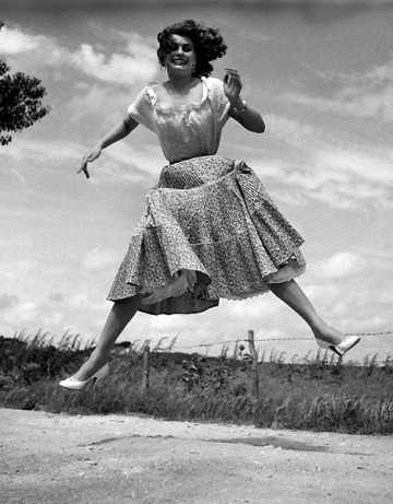 Halsman - Sophia Loren, 1959