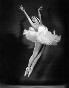 Halsman - Tamara Toumenova, 1953