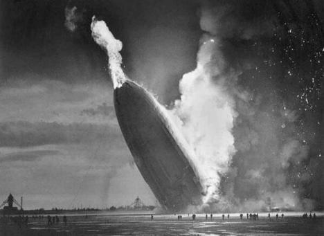 Hindenburg Disaster, May 6, 1937