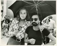 Martin Scorsese e Cybill Shepherd sul set di Taxi Driver
