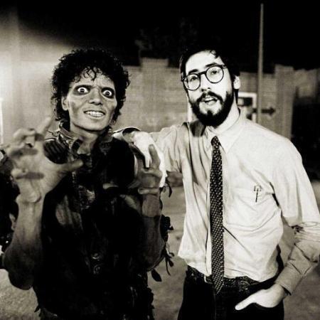 Michael Jackson and John Landis, 1983