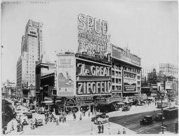 NYC, Broadway e 45th Street, 1946