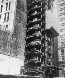 Parcheggio a New York City, 1930